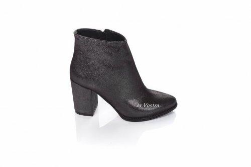 Ботинки женские Nivelie 8016 (весенне-осенние, т.астана, кожа)
