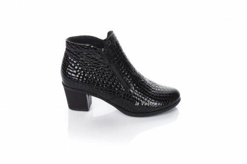 Ботинки женские Днепр 2684 (весенне-осенние, черный)
