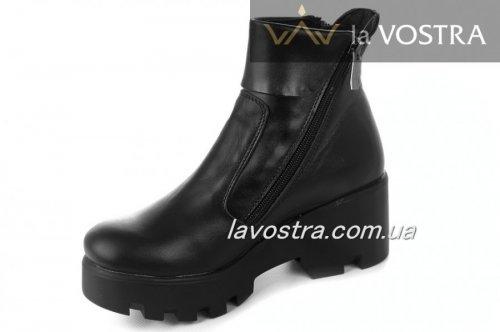 Ботинки женские Sv-style 5251 (зимние, черный, кожа)