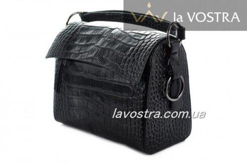 Сумка женская FARFALLA 7064 (черный, кожа)