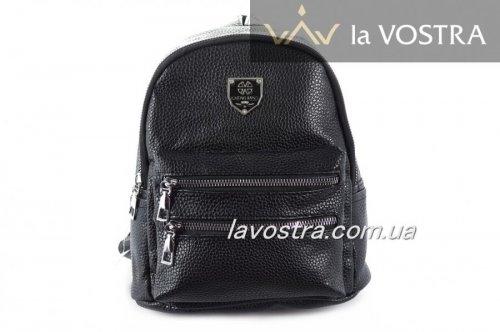 Рюкзак женский  7057 (черный, эко-кожа)