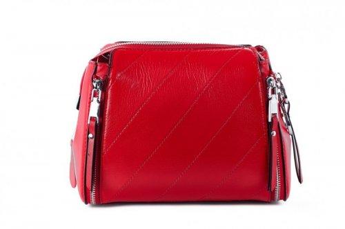 Сумка жіноча FARFALLA  7065 (червоний, шкіра)