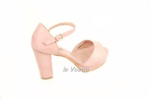 Босоножки женские Seastar WD98 (лето, розовый, эко-замш)