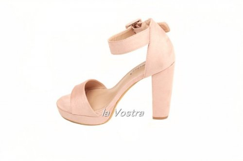 Босоножки женские Seastar KK20 (весна-лето-осень, розовый, эко-замш)