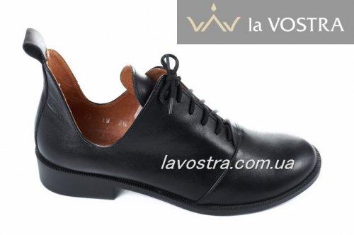 Ботинки женские Modeo 5629 (весенне-осенние, черный, кожа)