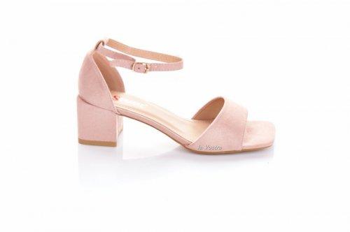 Босоножки женские Seastar 7731 (весна-лето-осень, розовый, эко-замш)
