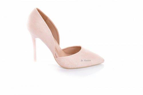 Туфли женские Seastar 7702 (весна-лето-осень, бежевый, эко-замш)