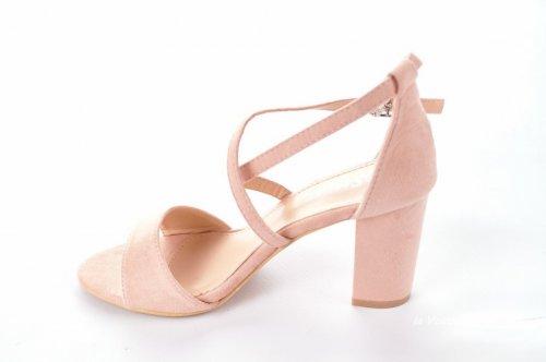 Босоножки женские Seastar 7121 (лето, розовый, эко-замш)