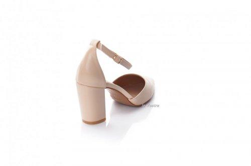 Туфлі жіночі Seastar 8099 (весна-літо-осінь, бежевий, еко-шкіра)