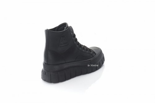 Кросівки жіночі L @ G 8071 (весна-літо-осінь, чорний, еко-шкіра)