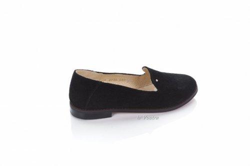 Туфли женские Jasmine 6336 (весна-лето-осень, черный, кожа)