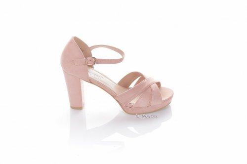 Босоножки женские Seastar 6277 (лето, розовый, эко-замш)