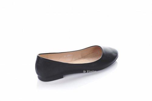 Балетки женские S.S 5985 (лето, черный, эко-кожа)