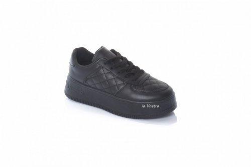 Кросівки жіночі STILLI 8072 (осінь-літо-весна, чорний, еко-шкіра)