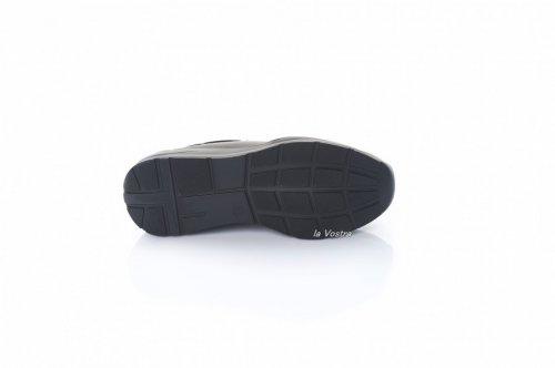 Кросівки жіночі Sezar 8085 (весняно-осінні, чорний, шкіра)