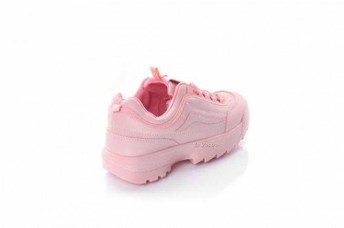 Кросівки жіночі Comer 8078 (весна-літо-осінь, рожевий, еко-шкіра)