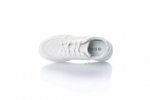Кросівки жіночі STILLI 8073 (осінь-літо-весна, білий, еко-шкіра)
