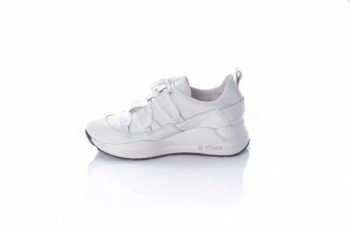 Кросівки жіночі ЕМА 8088 (весна-літо-осінь, білий, шкіра)