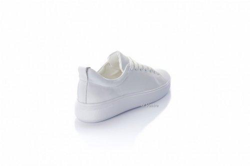 Кросівки жіночі Maria Sonet 8083 (весняно-осінні, білий, шкіра)