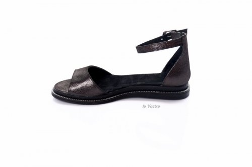 Босоножки женские Staturi 7988 (лето, черный, кожа)