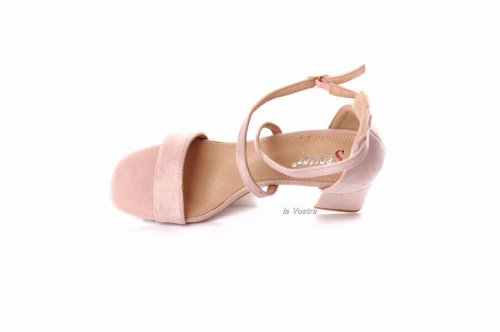 Босоножки женские Seastar 7979 (лето, розовый, эко-замш)