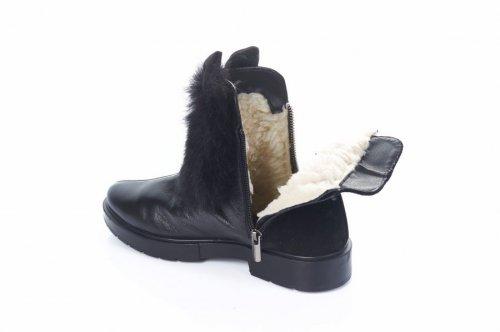 Черевики жіночі Дніпро 2753 (зимові, чорний)