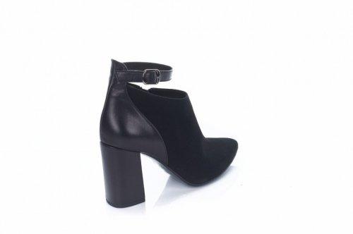 Ботинки женские Днепр 85673/K (весенне-осенние, черный)