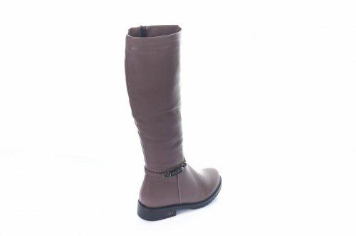 Сапоги женские Basida Y9216-3 (зимние, серый, эко-кожа)