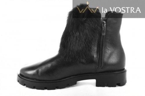 Ботинки женские BVK-2 (зимние, черный)