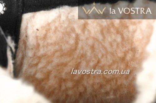 Ботинки женские Haries 6871 (зимние, черный, кожа)