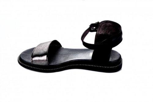 Босоножки женские Jasmine 7183 (лето, черный, кожа)