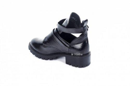 Ботинки женские Aotoria 2764 (весенне-осенние, черный)
