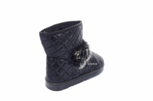 Угги женские Kylie 3161 (зимние, черный)