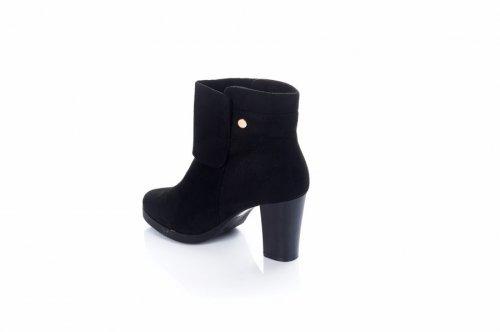 Ботинки женские JL789-1 (весенне-осенние, черный)