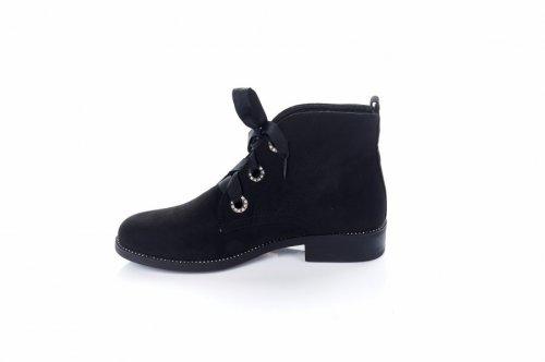 Ботинки женские NC779 (весенне-осенние, черный)
