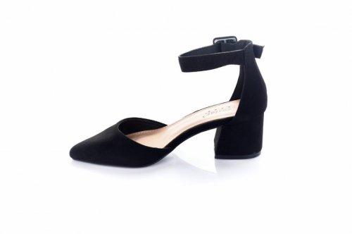 Туфли женские LL-149 (весна-лето-осень, черный)