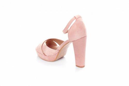 Босоножки женские Seastar KK12 (лето, розовый, эко-замш)