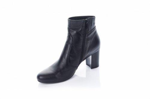 Ботинки женские Днепр 2828 (весенне-осенние, черный)