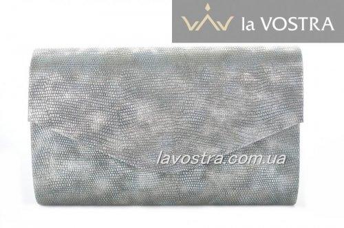 Клач женский Miss moda 2983 (серебро, эко-кожа)
