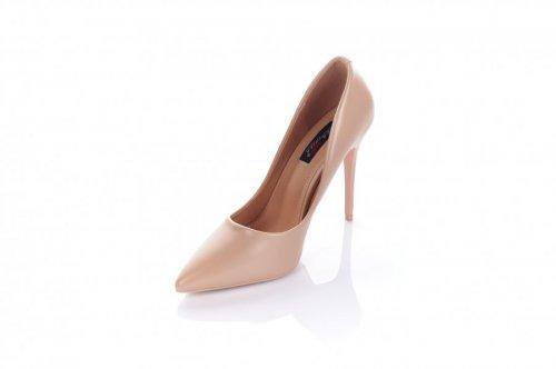 Туфлі жіночі Yes mile 7176 (весна-літо-осінь, бежевий, еко-шкіра)