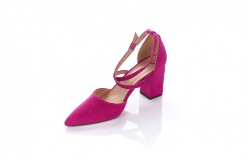 Туфли женские Seastar 5025 (весна-лето-осень, фуксия, эко-замш)