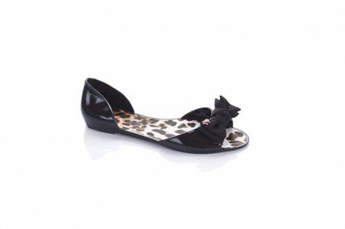 Босоножки женские Prety 2520 (лето, черный, силикон)