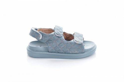 Босоножки женские Seastar 7911 (лето, голубой, джинс)