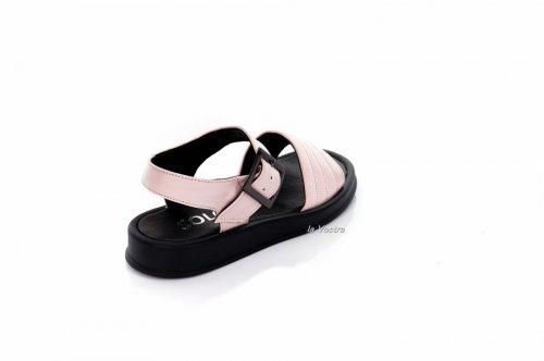 Босоножки женские  7920 (лето, розовый, кожа)
