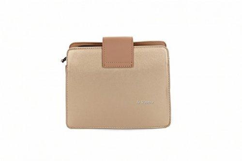 Сумка жіноча D & Bags 7840 (золото, еко-шкіра)