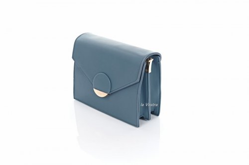 Сумка жіноча D & Bags 7824 (синій, еко-шкіра)
