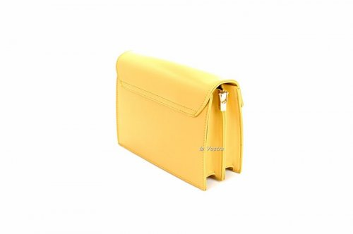 Сумка жіноча D & Bags 7823 (жовтий, еко-шкіра)