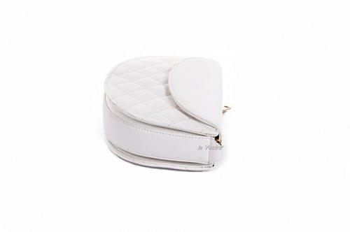 Сумка жіноча D & Bags 7813 (білий, еко-шкіра)