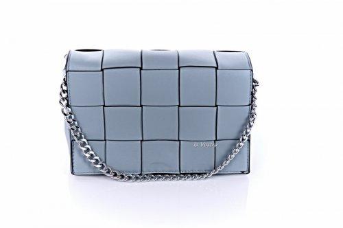 Сумка жіноча D & Bags 7821 (блакитний, еко-шкіра)