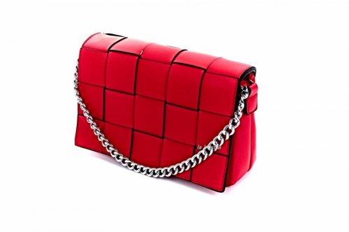 Сумка жіноча D & Bags 7819 (червоний, еко-шкіра)
